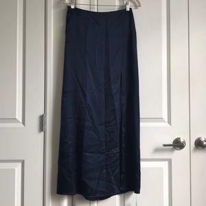 Reformation Silk Maxi Skirt